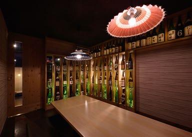 地酒と炙りの火人粋  店内の画像