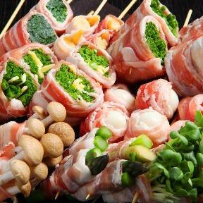 ◎野菜を食べよう◎ 野菜巻き串は必見!