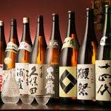 全国各地の厳選日本酒を飲み比べ!