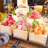 海鮮山枡盛り1円!!毎日限定10食!!