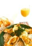 コンソメとかつお出汁、味わい深い和風のステーキです。