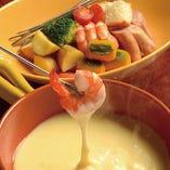 【選べる鍋料理その3】ROLLBALEオリジナルチーズフォンデュ【プレーン】