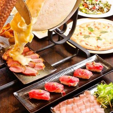 ラクレットチーズと個室の店 BATTERY 蒲田 コースの画像