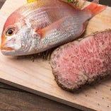 鮮魚とお肉【国内】