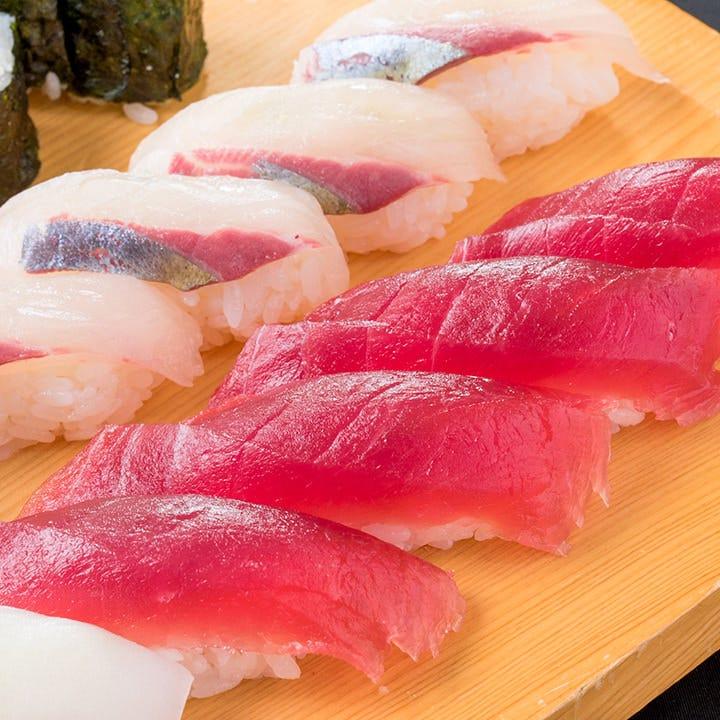 寿司職人が心を込めて握る寿司はぜひ食べてほしい当店自慢の逸品