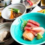 【銘盛り/旬の食材/会席】あき山の宴会コースは5,000円~