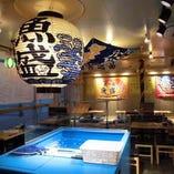 魚盛 浦和店ではさまざまなシチュエーションに合わせた席をご用意しております♪