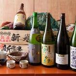 【厳選銘酒】 全国より選りすぐった日本酒&本格焼酎をご用意!