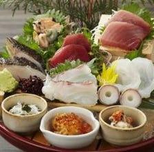 ■焼津直送 ミナミまぐろ入り魚盛大漁盛り  (2人前)