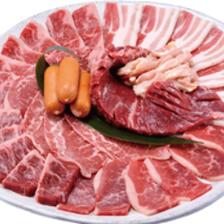 美味しいお肉を食べ放題で♪