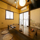 【2階】プライベート空間でゆっくりできる座敷席完全個室(~8名様)