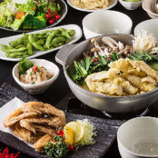 伝統の味をリーズナブルに堪能◆かわ乃コース◆全6品|宴会・歓迎会・送別会