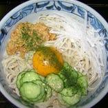 冷やし納豆(うどん、そば)