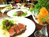 厳選素材を丁寧に調理!肉とタパスとワインをお楽しみ下さい☆