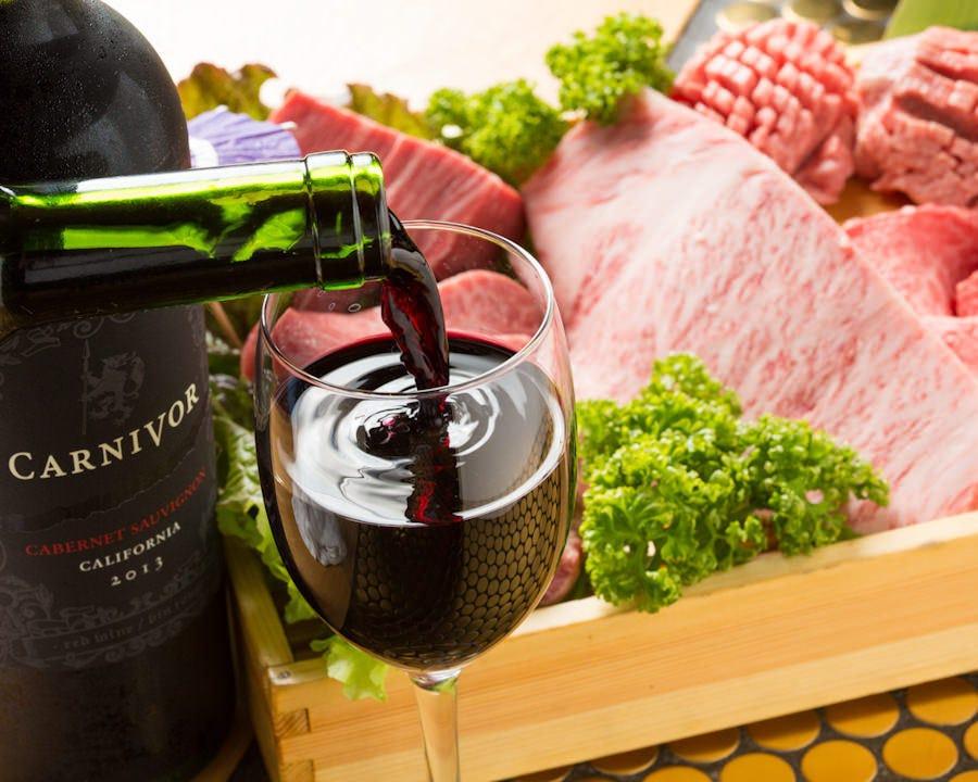 プロのソムリエ監修のワインリスト