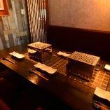 接待・食事会などの大切なお客様とのお食事は個室をご利用ください♪