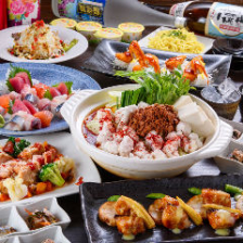 市場直送鮮魚&旬食材が盛り沢山!