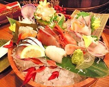 富山県ならではの新鮮な海鮮料理!