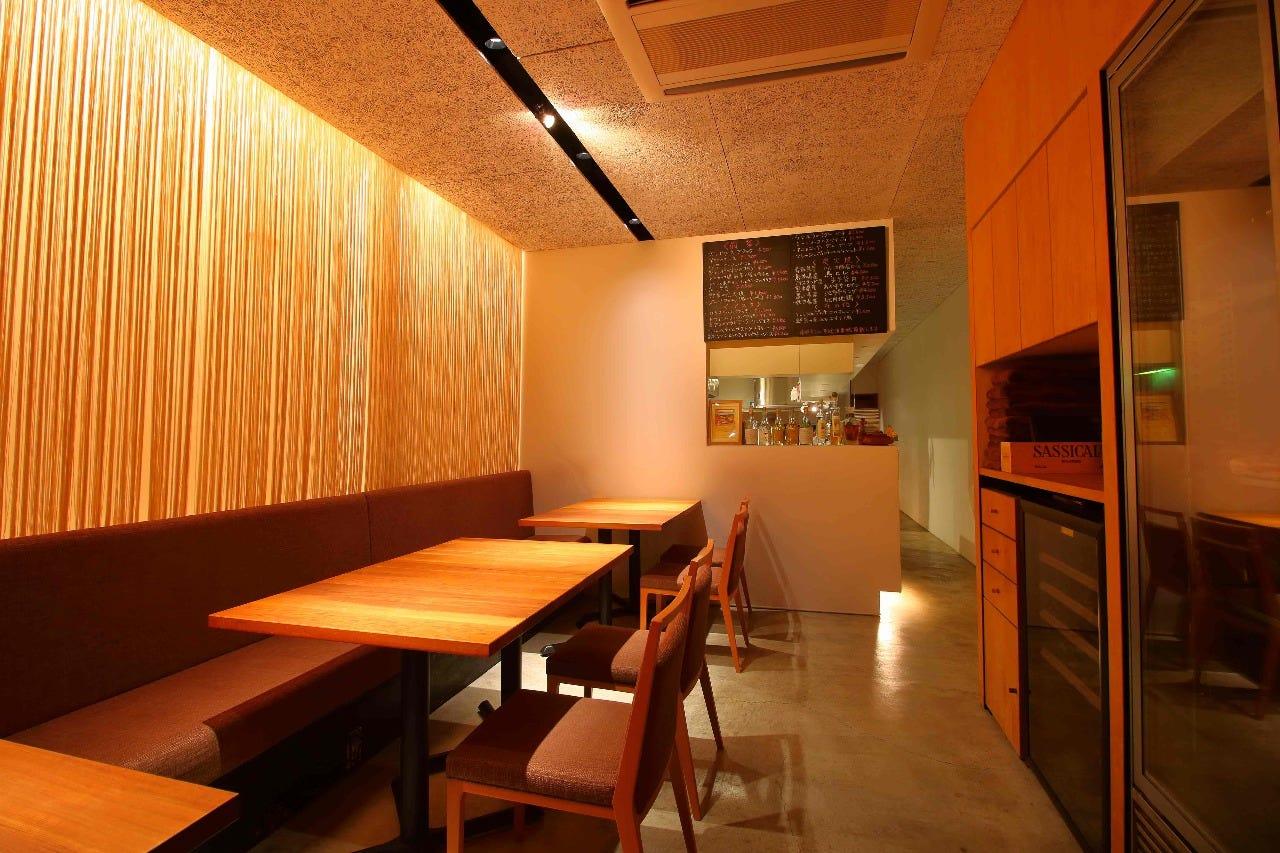 大人の食堂をイメージした空間