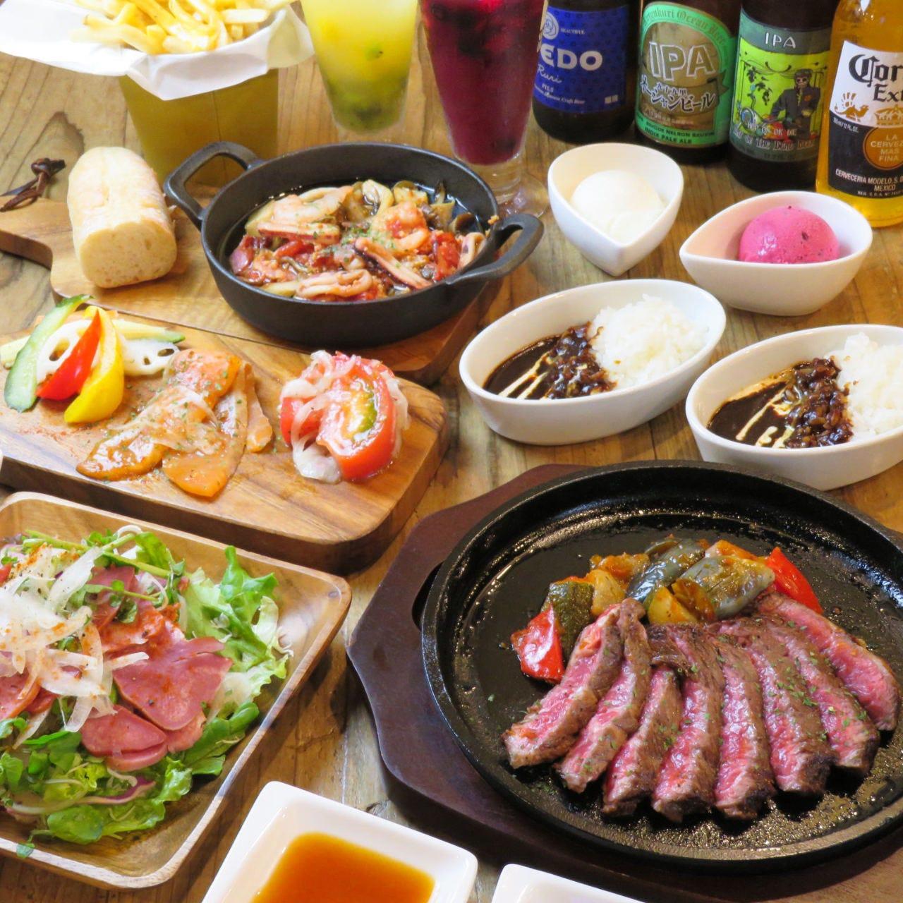 肉バル&チーズフォンデュ Beef Labo 西葛西店