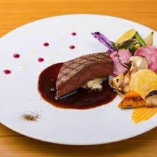広島産の食材を中心に使用しています