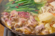 スタミナ鍋      ぢどりの旨汁で食べる〆の蕎麦は絶品です!