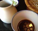 和食職人が織りなす、絶妙な味わいのそばつゆ