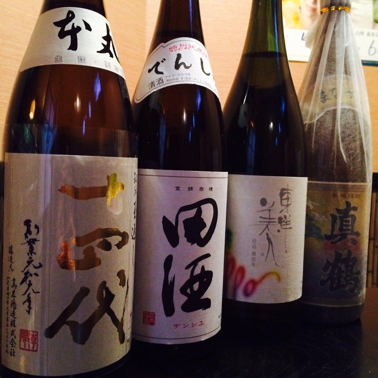 日本酒・焼酎も充実の品揃え
