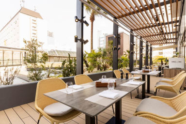 Terrace and Table ホテルメトロポリタン川崎  店内の画像