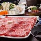 上州和牛すき焼コース