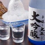 【地酒】 日本料理に合う地元群馬の自慢の地酒を厳選仕入れ