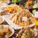 2000円からご予約できる宴会コースはどれも充実した内容です!