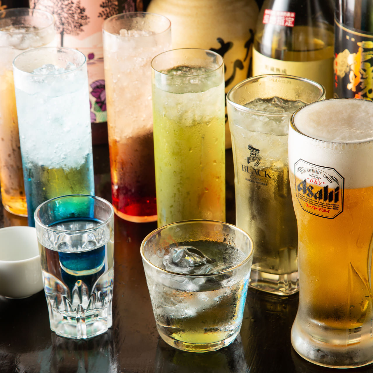 多彩なドリンクを満喫できる単品飲み放題もご用意しています!