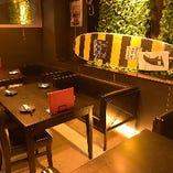 合コンや女子会に最適!ソファーテーブル席もご用意しています。