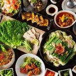 韓国料理を思いっきり満喫できる食べ飲み放題コースがオススメ◎