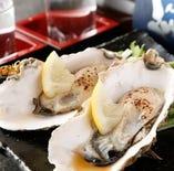 新鮮生牡蠣各種!宮城県産生牡蠣、広島県産生牡蠣など・・・