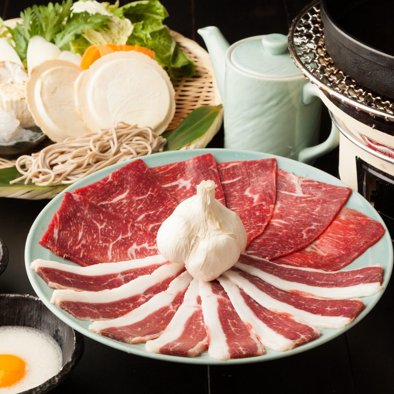 名物「歌麿鍋」<精力スタイル馬鍋>