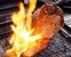蔵尾ポークの極上ロースステーキ、素材の持ち味にこだわります。