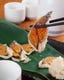 滋賀県名物のフナ寿司。癖になる旨さです。