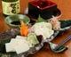 滋賀県産の湯葉を使用した湯葉料理。