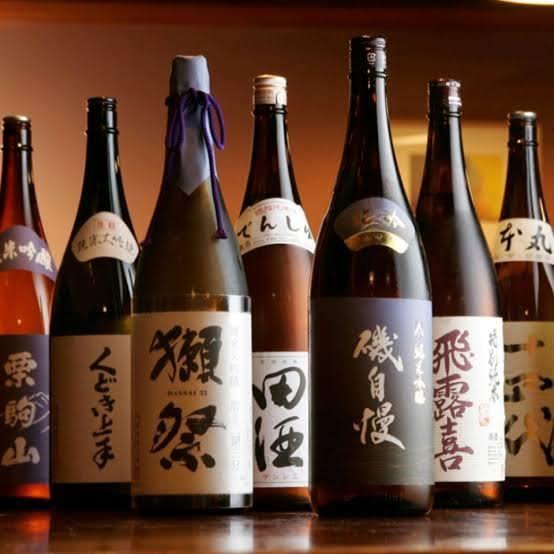 多種多様な日本酒を用意しています!