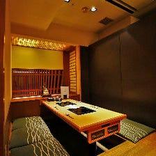 趣きのある上質な掘り炬燵完全個室