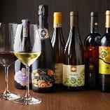 当店のワインは全てイタリア産!全20種をリーズナブルに味わえる