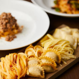 自家製生パスタでトルテッリなど様々な味わいを堪能できる