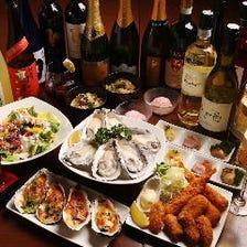 ◆牡蠣料理によく合うワインや日本酒