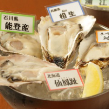 本日のおすすめ生牡蠣盛合せ