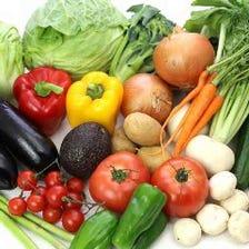 鮮度とコスパに優れた地野菜