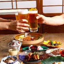【夜】目で舌で季節を愉しむ『おまかせ創菜コース』4,000円コース例|宴会 接待 飲み会 二次会 パーティー