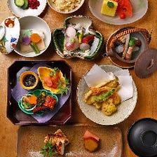 贅沢気分を味わう『会席料理』6,000円コース例|法事・法要後に、皆様揃っての会食に