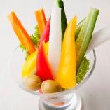 彩り野菜のピクルス【各地】